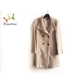クローラ CROLLA コート サイズ38 M レディース 美品 ベージュ 冬物 新着 20190613