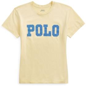 《セール開催中》POLO RALPH LAUREN レディース T シャツ ライトイエロー XXS コットン 100% JERSEY LOGO-GRAPHIC TEE