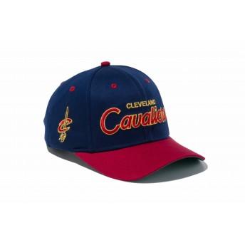 【ニューエラ公式】 9FIFTY ストレッチスナップ クリーブランド・キャバリアーズ オーシャンサイドロゴブルー カーディナルバイザー メンズ レディース 56.8 - 60.6cm NBA キャップ 帽子 11899163 NEW ERA