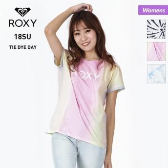 ROXY/ロキシー レディース 半袖 Tシャツ ティーシャツ トップス ロゴ 柄 RST182029