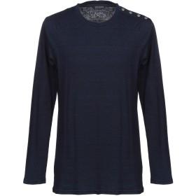 《期間限定セール開催中!》BALMAIN メンズ T シャツ ダークブルー XS コットン 100%