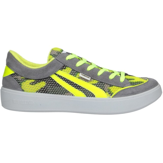 《セール開催中》MECAP メンズ スニーカー&テニスシューズ(ローカット) グレー 38 革 / 紡績繊維