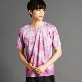 [マルイ] マーブルプリントTシャツ/ニコルクラブフォーメン(NICOLE CLUB FOR MEN)