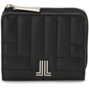 LANVIN en Bleu(BAG) LANVIN en Bleu ランバンオンブルー ベルシー Lファスナー二つ折り財布 財布,ブラック