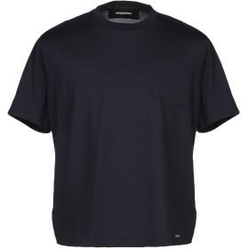 《セール開催中》DSQUARED2 メンズ T シャツ ダークブルー M ウール 100%