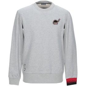 《期間限定セール開催中!》LANVIN メンズ スウェットシャツ ライトグレー XS コットン 100% / ナイロン / ポリウレタン / ポリエステル