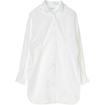 Finamore フィナモレ / Giselleコットンロングスリーブシャツ シャツ・ブラウス,ホワイト