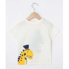 Tシャツ - HusHusH 【80-130cm】吸水速乾/恐竜Tシャツ