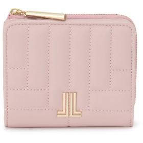 LANVIN en Bleu(BAG) LANVIN en Bleu ランバンオンブルー ベルシー Lファスナー二つ折り財布 財布,ピンク