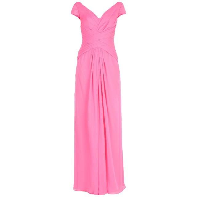 《期間限定 セール開催中》ROSA CLAR レディース ロングワンピース&ドレス ピンク 38 シルク 100%