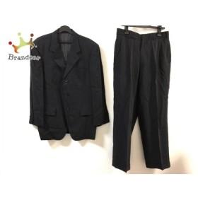 メンズビギ MEN'SBIGI シングルスーツ サイズM メンズ 黒×白   スペシャル特価 20190908