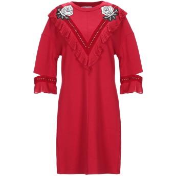 《セール開催中》SILVIAN HEACH レディース ミニワンピース&ドレス レッド XS コットン 100%