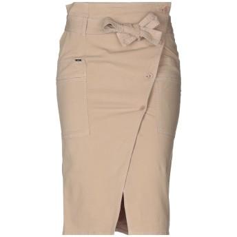 《セール開催中》LIU JO レディース 7分丈スカート ベージュ 42 コットン 98% / ポリウレタン 2%