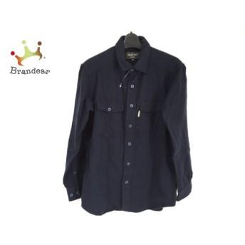 モンベル mont-bell 長袖シャツ サイズS メンズ 美品 ダークネイビー 値下げ 20190816