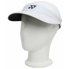 ヨネックス(YONEX) ユニセックス テニス ベリークール サンバイザー:ホワイト (40036 011)