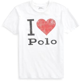 《セール開催中》POLO RALPH LAUREN レディース T シャツ ホワイト XXS コットン 100% JERSEY POLO GRAPHIC TEE