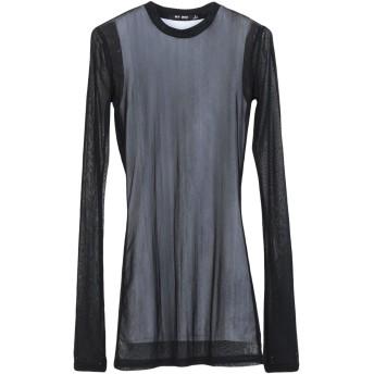 《セール開催中》BLK DNM レディース T シャツ ブラック S ナイロン 89% / ポリウレタン 11%