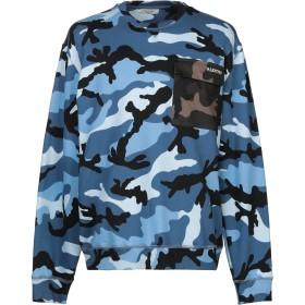 《期間限定セール開催中!》VALENTINO メンズ スウェットシャツ パステルブルー XS コットン 92% / ナイロン 8% / ポリウレタン
