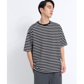 tk.TAKEO KIKUCHI(ティーケー タケオ キクチ) ◆コットンボーダーTシャツ