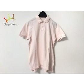 マドモアゼルノンノン Mademoiselle NON NON 半袖ポロシャツ メンズ ピンク  値下げ 20190921