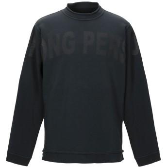 《期間限定セール開催中!》RING メンズ スウェットシャツ スチールグレー M コットン 100%