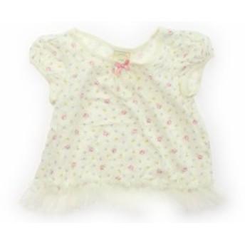 【ジェラピケ/gelatopique】Tシャツ・カットソー 80サイズ 女の子【USED子供服・ベビー服】(407848)
