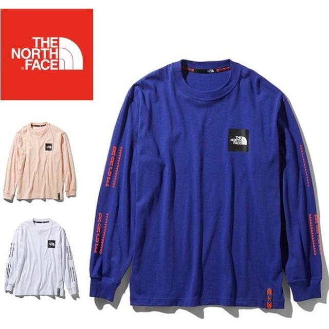THE NORTH FACE ノースフェイス RAGE L/S Box Logo Tee レイジロングスリーブボックスロゴティー(ユニセックス)  NT31965 【日本正規品/長袖/アウトドア】