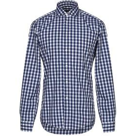 《セール開催中》BRIAN DALES メンズ シャツ ダークブルー 41 コットン 100%