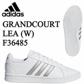 adidas アディダス レディース スニーカー GRANDCOURT LEA W F3648