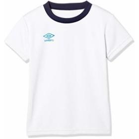 [アンブロ] Tシャツ ワンポイント S/Sシヤツ キッズ ホワイト 日本 140 (日本サイズ140 相当)