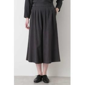 (HUMAN WOMAN/ヒューマンウーマン)≪Japan couture≫ジャガードチェックパンツ/レディース チャコール1 送料無料