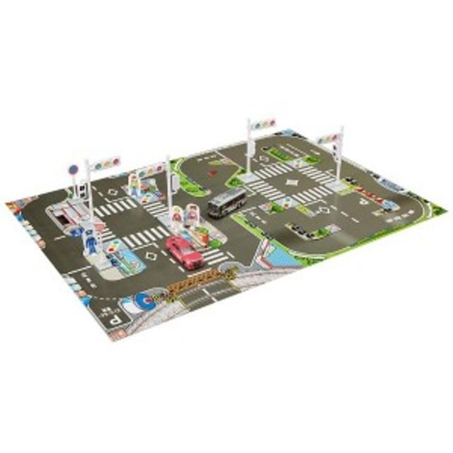 タカラトミー トミカ 信号・標識&マップで免許をゲット! 交通安全セット