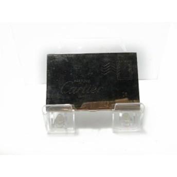 カルティエ Cartier カードケース レディース - シルバー PARFUMS/ミラー付き 金属素材【中古】