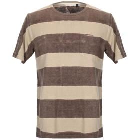 《セール開催中》JUNGMAVEN メンズ T シャツ ココア L 指定外繊維(ヘンプ) 55% / オーガニックコットン 45%