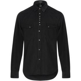 《セール開催中》OFFICINA 36 メンズ シャツ ブラック M コットン 100%