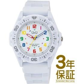 【メール便選択で送料無料/代引不可】【正規品】Q&Q キュー&キュー 腕時計 VS30-001 ユニセックス スポーツウォッチ クオーツ