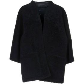 《期間限定セール開催中!》MAISON MARGIELA レディース ブルゾン ダークブルー 40 羊革(ラムスキン) 100% / 羊類革