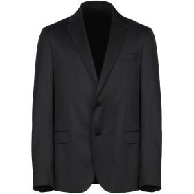 《セール開催中》ZZEGNA メンズ テーラードジャケット ダークブルー 54 ウール 100%