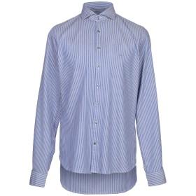 《期間限定セール開催中!》MICHAEL KORS MENS メンズ シャツ ブルー 40 コットン 100%