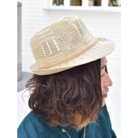 帽子全般 - チャイハネ 【チャイハネ】メランジヤーン中折れハット