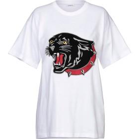 《期間限定セール開催中!》P.A.R.O.S.H. レディース T シャツ ホワイト S コットン 100%