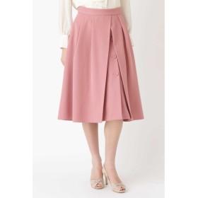 JILLSTUART アリサラップ風カラースカート ピンク 0