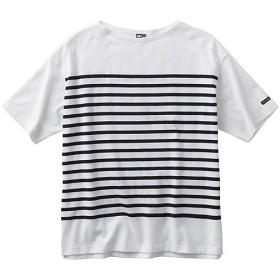 (セール)HELLY HANSEN(ヘリーハンセン)トレッキング アウトドア 半袖Tシャツ S/S BORDER BIG TEE HE31827 W メンズ W
