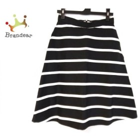 ドレステリア DRESSTERIOR スカート サイズ36 S レディース 黒×白 ボーダー   スペシャル特価 20190915