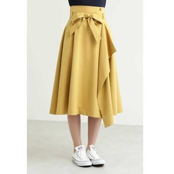 【FREE'S MART:スカート】ハイウエストラップフレアスカート