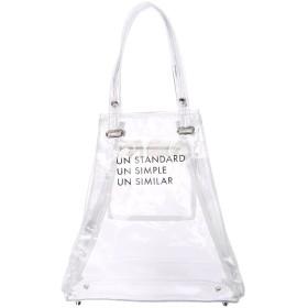 UN3D. オリガミクリアトート UN3D○521841901401 クリア カバン・バッグ