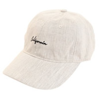 【Super Sports XEBIO & mall店:帽子】リネン刺繍キャップ Calif 897PA9ST1763 NTL
