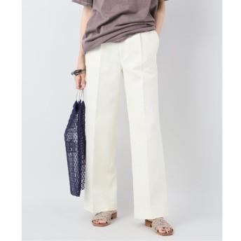 【プラージュ/Plage】 Wrinkle Double Cloth パンツ