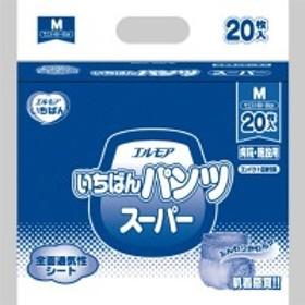 【送料無料】【法人(会社・企業)様限定】カミ商事 エルモア いちばん パンツ スーパー M 1パック(20枚)
