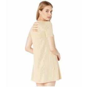 BCBジェネレーション レディース ワンピース トップス T-Shirt Dress TDY6210668 Mustard